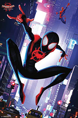 Trends International Man: Spider-Verse-Street Wall Poster 22.375