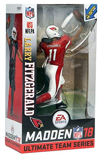 NFL Madden 18 Ultimate Team Series 1 Action Figure: Larry Fitzgerald (Arizona Cardinals Variant)