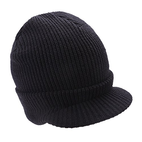 iYBUIA Men Women Baggy Warm Crochet Winter Wool Knit Ski Beanie Skull  Slouchy Caps Hat( afc035eed718