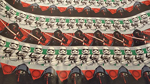 Star Wars Homemade Costumes Kids (Christmas Wrapping Star Wars Holiday Paper Gift Greetings 1 Roll Design Festive Wrap Rebels Darth Vader)