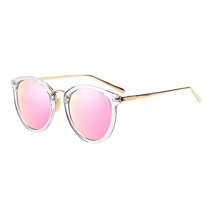 7ee4c2d55e QZ HOME Gafas De Sol Protección UV Espejo Vintage Estilo Harajuku De Moda