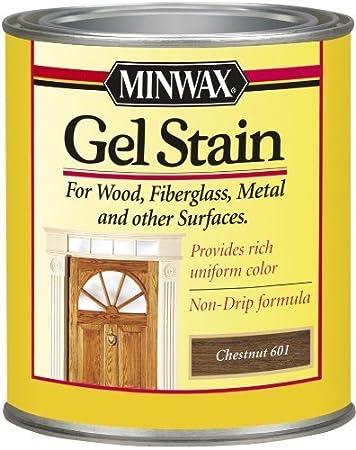 Amazon com: Minwax 66010 1 Quart Gel Stain Interior Wood
