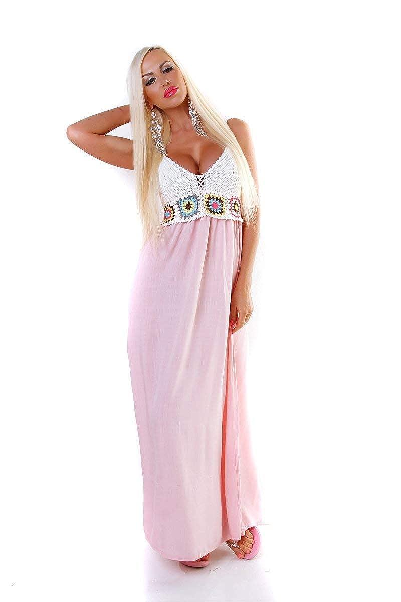 Kleider 10 Damen Maxikleid Sommer Abendkleid Langes Kleid Blumen