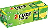 FUZE Lemon Iced Tea Fridge Pack Cans, 12 Ounce (Pack of 12)