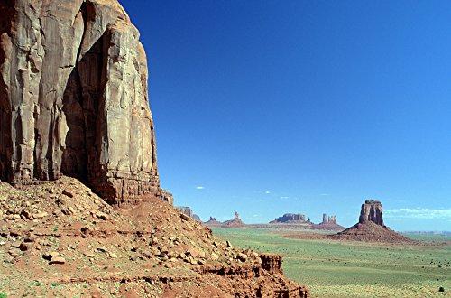 Posterazzi R.Watts; Monument Valley Navajo Tribal Park Az Poster Print (34 x 22) from Posterazzi