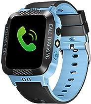 Relógio inteligente infantil Beacon Pet com rastreador GPS IP67 à prova d'água para crianças, relógios de
