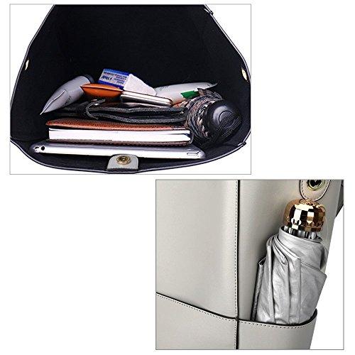 S-Zone Leather Shoulder Bag Tote Bag Handbag Bucket Bag Ladies Commuting Jp F/S