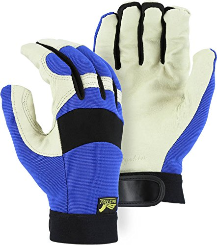 Majestic Glove - Bald Eagle Thinsulate Lined Pigskin Mechanic Gloves - Xx-Large