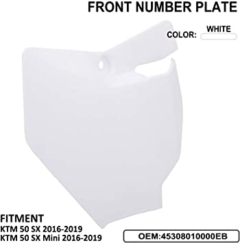 Seat AnXin Plastic Fender Fairing Kits Kit Body Work Set Compatible With 50 SX//SX MINI 2016-2019 2017 2018