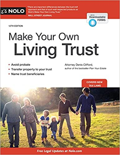 Make Your Own Living Trust: Denis Clifford Attorney: 9781413321005 ...