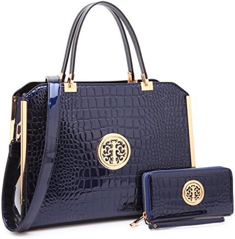 Dasein Handbag Leather Shoulder Matching product image