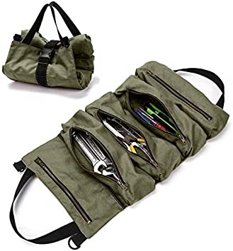 Motorcycle Car Portable Tool Bag Screwdriver Roll Bag Case Pouch Storage Toolkit