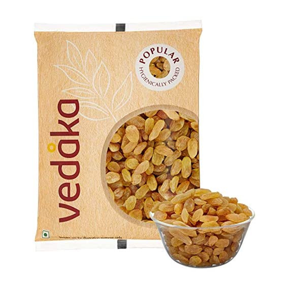 Amazon Brand - Vedaka Popular Raisins, 200g