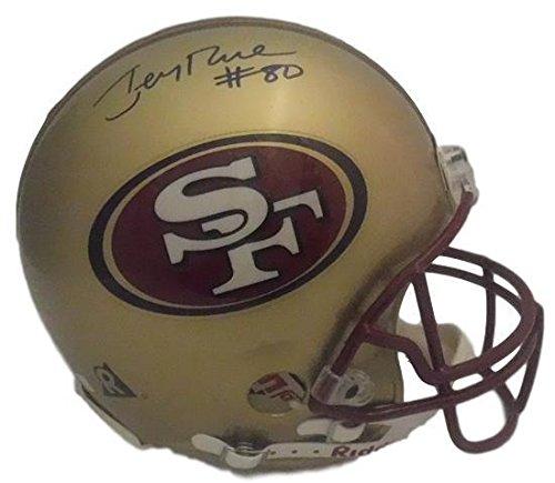Signed Jerry Rice Helmet - Fs Tb Proline 20933 - PSA/DNA Certified - Autographed NFL Helmets