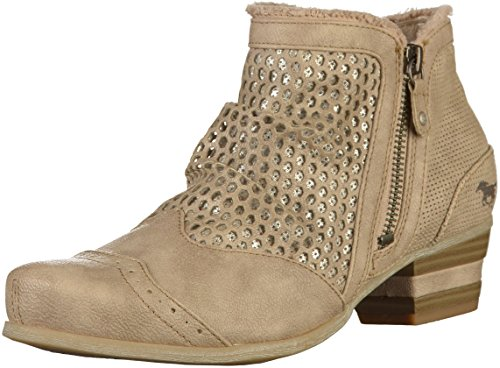 1187 Booties 519 Taupe Mustang Womens Pw6Ux