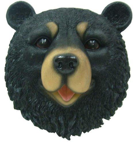 resin bear head - 2