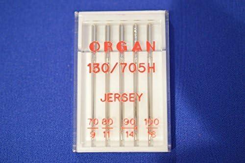 Notas Agujas para máquina de coser JERSEY MIX 70, 80, 90 Y 100 ...