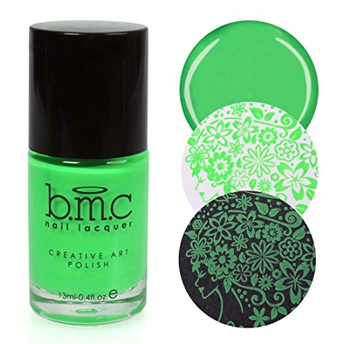 BMC Bright and Festive Creative Art Stamping Polish Set - Weekend Warrior, Empire Club -
