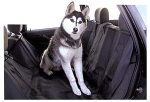 HP Autozubehör Nero - Manta cubierta de perro para el asiento trasero del coche