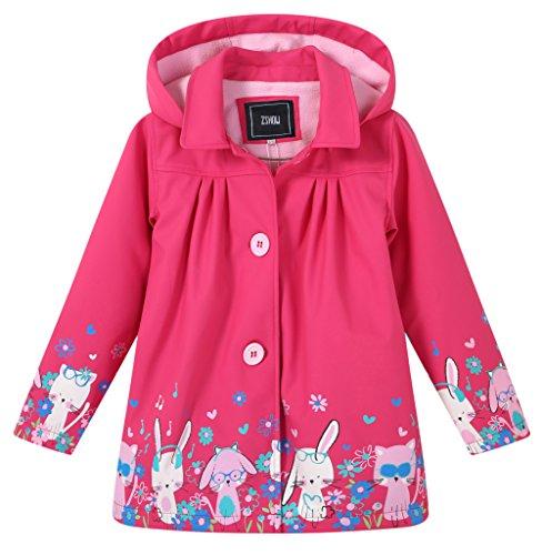 ZSHOW Waterproof Raincoat Fleece Removeable product image