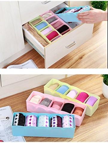 cinturones calcetines para cajones color azul Organizador Zedtom 3/piezas para ropa interior corbatas