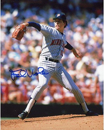 Frank Viola Minnesota Twins Autographed 8'' x 10'' Pitching Photograph - Fanatics Authentic -