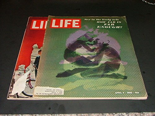 2 Iss Life Apr 4, 25 '69 Sex In The Lively Arts, Confrontation In Harvard Yard