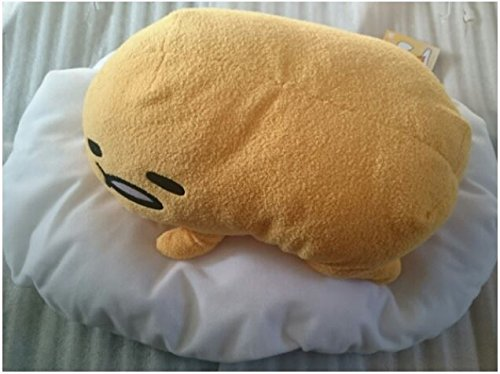 [Japan Gudetama Nesoberi Standard Big Plush stuffed toy doll FURYU sanrio 30cm] (Funny Pop Culture Costume Ideas)