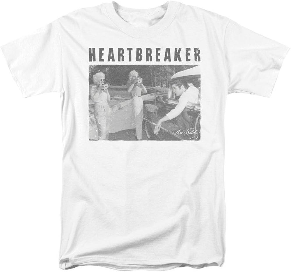 Elvis Heartbreaker Adult Tank Top
