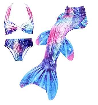 Amazon.com: DOTOFIN Mermaid Tails,Swimming Costume,Girls