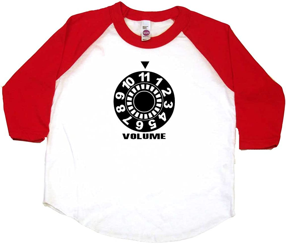 Volume to 11 Funny Toddler Clothes Cool Boy Or Girl T-Shirts Funny Baby Gift