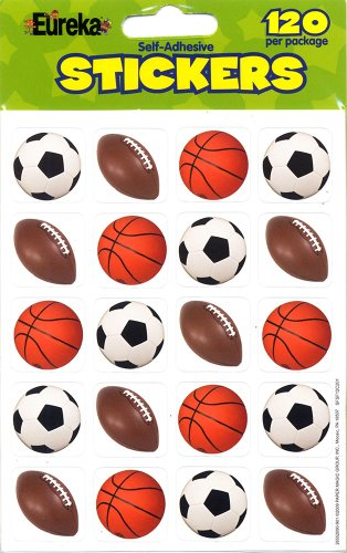 Eureka Mixed Sports Stickers]()