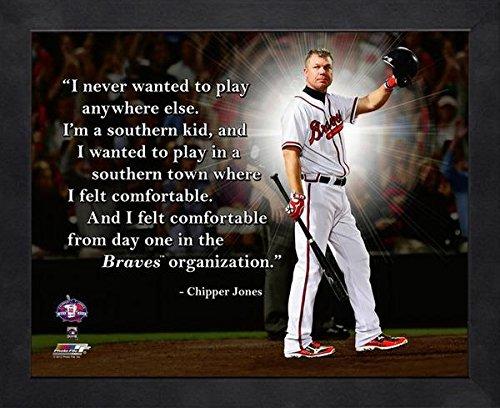 Atlanta Braves Chipper Jones Framed - 4