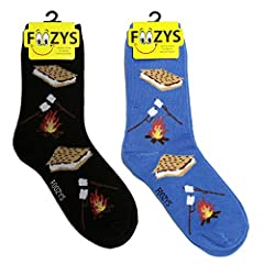 A delicious pack of Sweet Treats for your feet. Fashion crew socks for ladies. Scrumptious and delicious, our Sweet Treats collection of crew socks for women by Foozys. A two pair pack of colorful socks printed with yummy sweet treat designs,...
