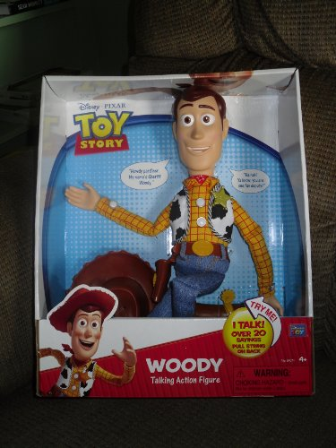 Toy Story Woody Talking Action Figure (Woody Pull String)