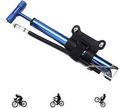 LieYuSport Bomba de pie Portátil,Bomba Bicicletas Mini Portátil ...