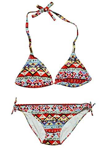 Mysocks® Ropa de playa Selección de trajes de baño, sandalias, sombreros, bolsos y ropa Bikini conjunto azteca Diseño