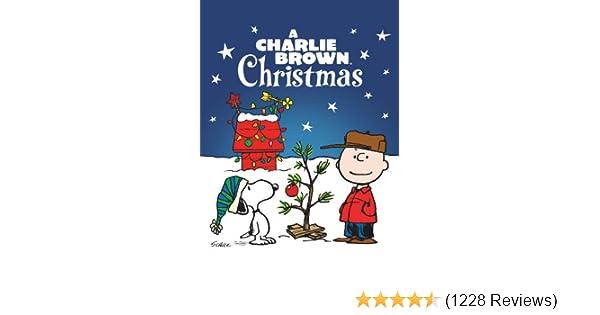 amazoncom watch a charlie brown christmas prime video - Charlie Brown Christmas Streaming