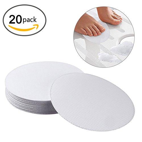 Cedmon 20 Pcs Non-Slip Bathtub Stickers Safety Bath Shower Treads (Round) by Cedmon