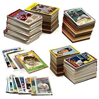 600 Baseball Cards Including Babe Ruth Unopened Packs Many Stars And Hall Of Famers Ships In Brand New White Box Perfect For Gift Giving Includes