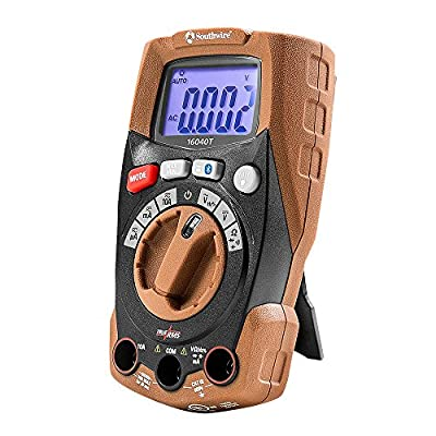 Southwire Tools & Equipment 16040T Compact Auto Range TrueRMS Multimeter with MApp Mobile App