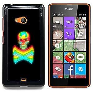 - Toxic Keep Away Crossbones Skull - - Snap-On Rugged Hard Cover Case Funny HouseFOR Microsoft Nokia Lumia 540 N540