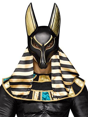 [Anubis the Egyptian God Mask] (Egyptian Gods Costume For Kids)