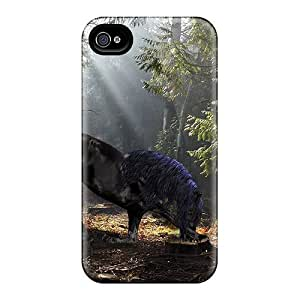 New Snap-on AnnetteL Skin Case Cover Compatible With Iphone 4/4s- Light In The Forest