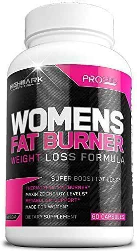 Natural Fat Burner Diet Pills for Women   Weight Loss Pills and Appetite Suppressant   Lose Weight and Boost Energy   30-Day Formula for a Fitter, Healthier Body   60 Capsules