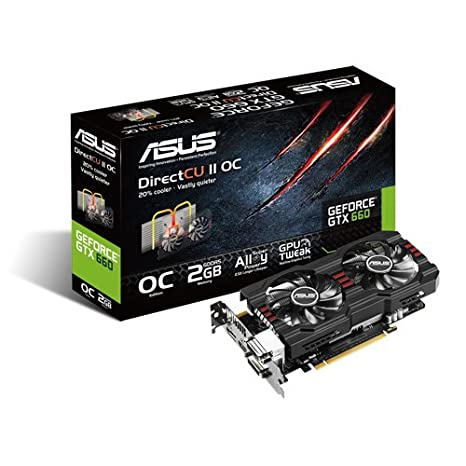 ASUS 90YV03N1-M0NA00 GeForce GTX 660 2GB GDDR5 - Tarjeta ...
