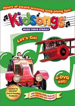 Amazon Com Kidsongs Let S Go Cars Boats Trains Planes I Can