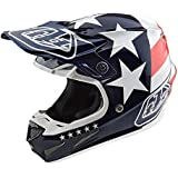 2017 Troy Lee Designs SE4 Composite Freedom Helmet-Blue-XL