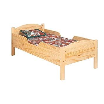 Amazon.com: Little Colorado tradicional cama infantil: Baby
