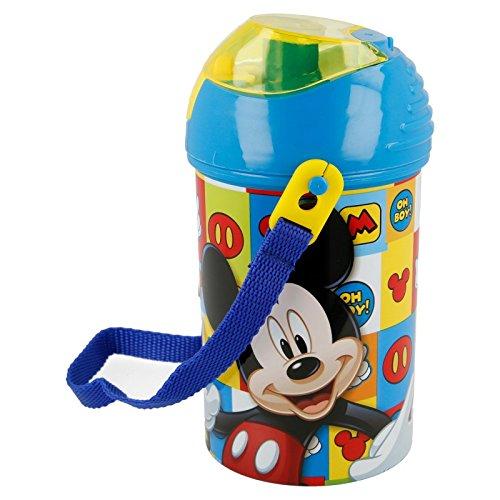 Stor Botella Robot Pop UP 450 ML. Mickey Mouse Icons: Amazon.es: Juguetes y juegos